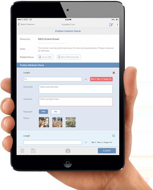 Mobile FSQA apps