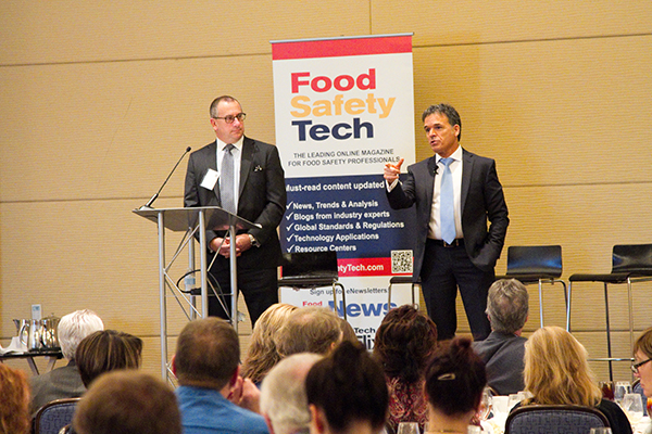 Rick Biros and Frank Yiannas, Food Safety Consortium