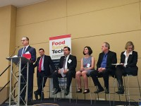 Food safety superstar panel discuss controlling pathogens. Photo: amyBcreative