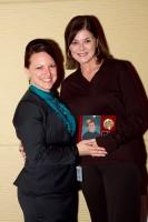 Gina Kramer and Nancy Donley at STOP Foodborne Illness fundraiser