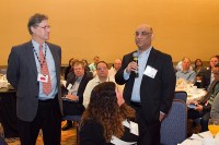 Syed Hassan of PepsiCo addresses Michael Taylor during FDA Town Hall