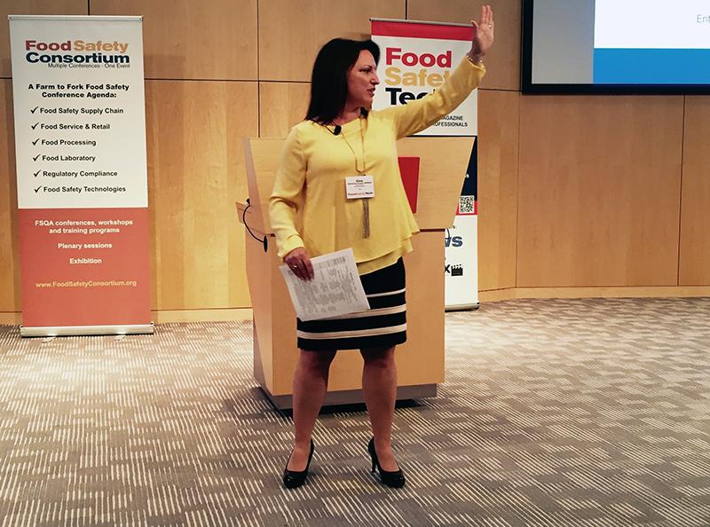 Gina Kramer, Savour Food Safety International