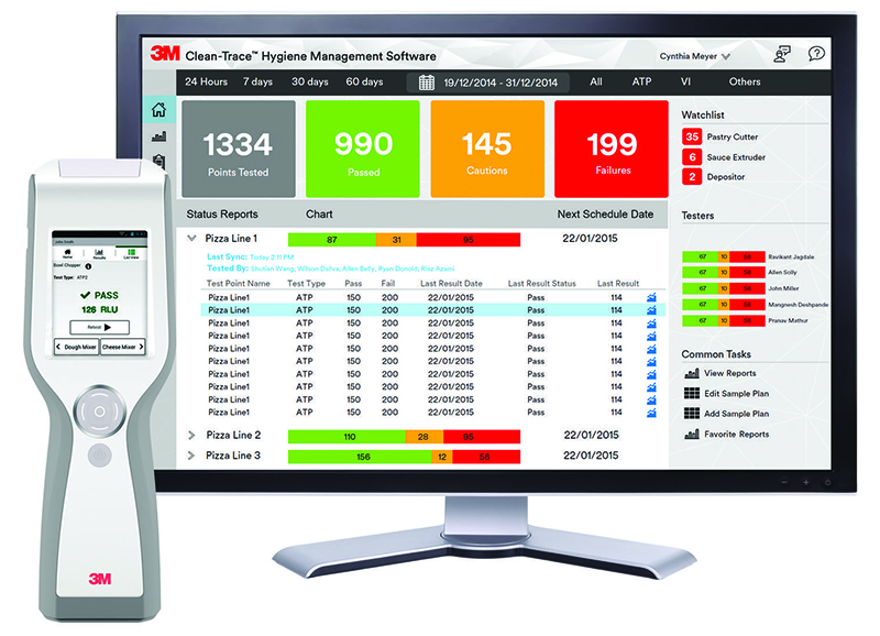 3M Clean-Trace Hygiene Monitoring and Management System (Photo courtesy of 3M)
