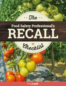 The Food Safety Professional's Recall Checklist
