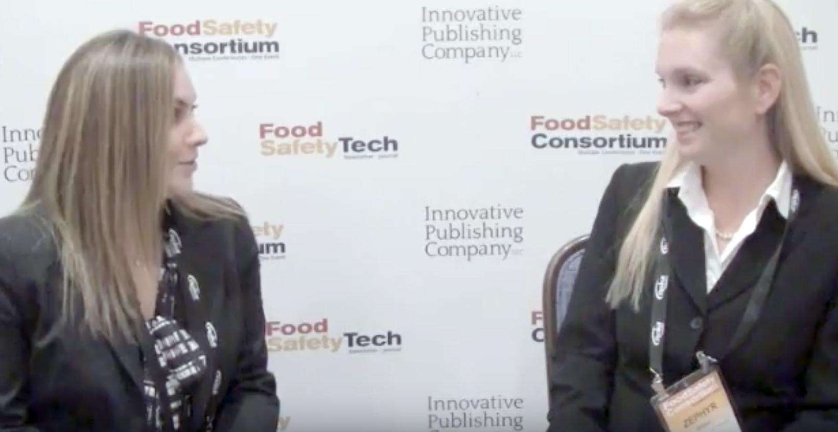 Maria Fontanazza, Zephyr Wilson, Food Safety Consortium