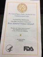 Palmer Orlandi promotion ceremony
