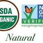 Organic, NonGMO, Natural, Labeling