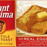 Aunt Jemima frozen French Toast recall