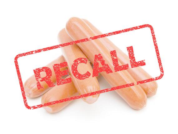 Hot dog recall