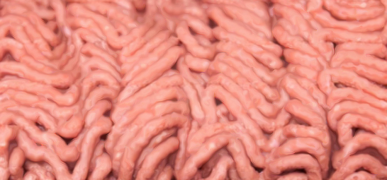 Ground beef, pink slime