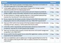 FSMA, Foreign Supplier Verification Program