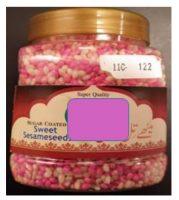 Sesame seeds, Rhodamine B