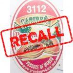 Papaya recall, Salmonella