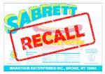Sabrett hot dog recall