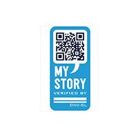 DNVGL MyStory, blockchain