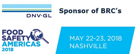 Food Safety Americas 2018 - May 22-23, 2018 - Nashville, TN