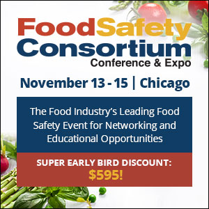 2018 Food Safety Consortium Conference & Expo - November 13-15, 2018 - Chicago