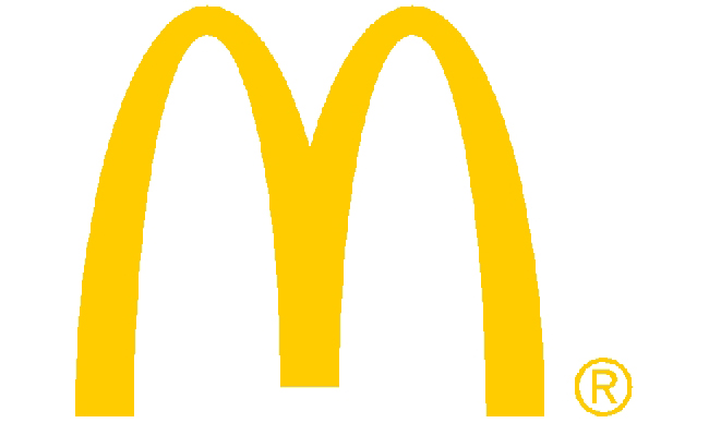 McDonalds, golden arches