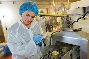 Data management, food manufacturing