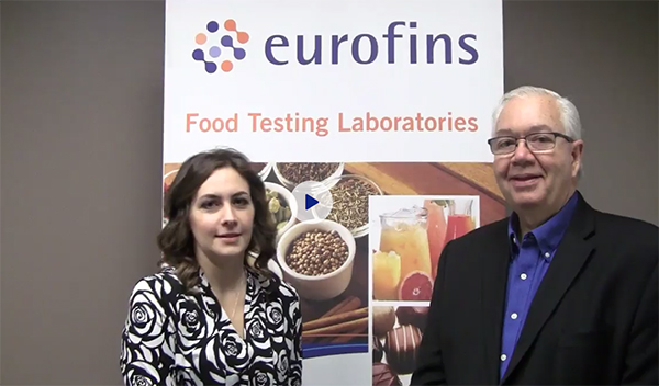 Maria Fontanazza, Douglas Marshall, Eurofins, Food Safety Tech, Food Safety Consortium