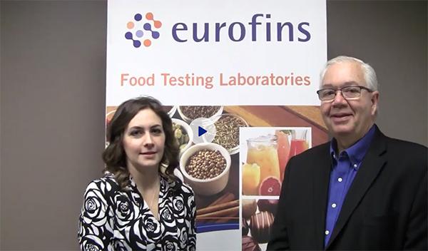 Maria Fontanazza, Douglas Marshall, Eurofins, Food Safety Tech, Food Safety Consortium