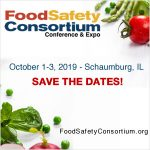 Food Safety Consortium - October 1-3, 2019 - Schaumburg, IL