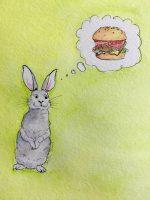 Rabbit, burger, food fraud