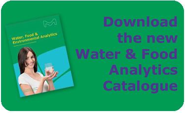 Download the new Water & Food Analytics Catalogue
