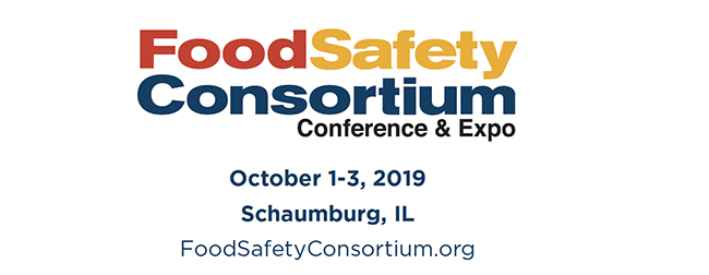 2019 Food Safety Consortium Conference & Expo