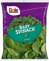 Dole baby spinach, recall