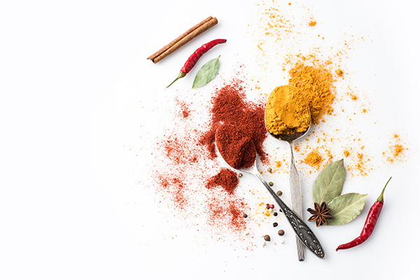 Spices, Paprika, Curry
