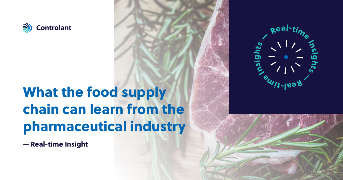 What the Food Supply Chain Can Learn From the Pharmaceutical industry