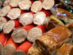 Salami, plastic packaging