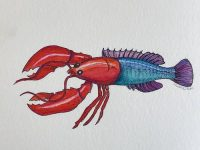 Food fraud, lobster, white fish