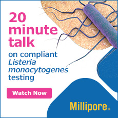 20 minute talk on compliant Listeria monocytogenes testing