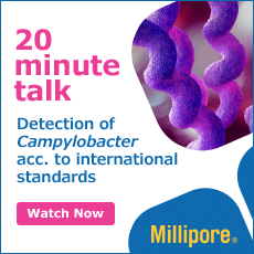 20 minute talk Detection of Campylobacter acc. to international standards