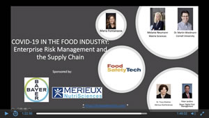 COVID-19 in the Food Industry: Enterprise Risk Management and the Supply Chain