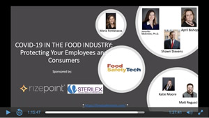 COVID-19 in the Food Industry: Protecting Your Employees and Consumers