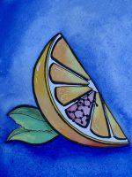 Orange slice, food fraud